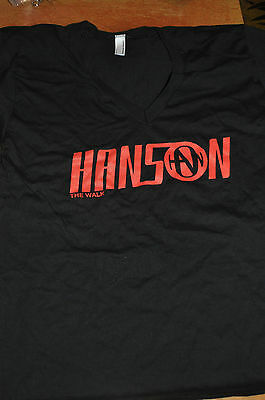 RARE NEW OFFICIAL Hanson The Walk 5 of 5 shirt size SMALL!
