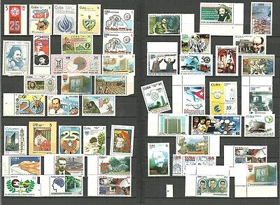 (T6-7-8)Single stamps editions or small full sets,music,ship,computers,art,MNH#4