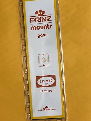 Prinz Stamp Mounts 50/215 **We Are A Veteran Supportive Business**