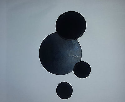 2 x Solid EPDM Rubber Discs - pick your own size - 2mm thick