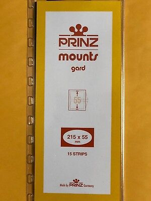 Prinz Stamp Mounts 55/215   **We Are A Veteran Supportive Business***
