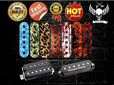 Amazing Textured Pickup Humbucker Single Coil Sticker Decal Topper (1 PCS)