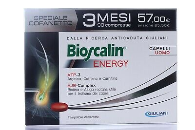 Bioscalin Energy 30 Compresse + Shampoo Rinforzante 200Ml