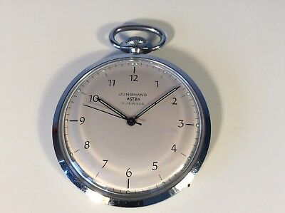 Junghans Astra 17 Jewels   Alte Taschenuhr Old Pocket Watch