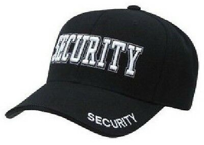 SWAT TEAM POLICE  BLACK OPS  Special Forces EMBROIDERED SECURITY CAP