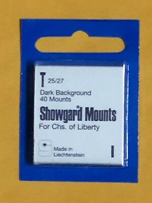 Showgard Stamp Mounts T 25/27 -   **a Veteran Supportive Business**