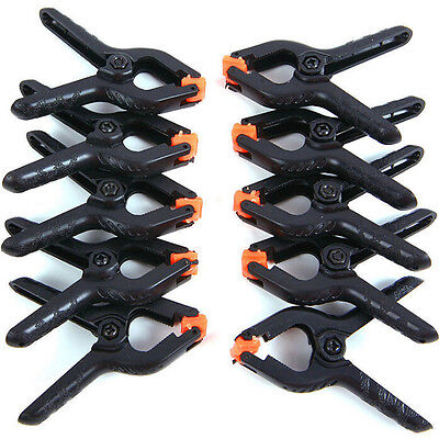 10x Photography Background Clip Backdrop Clamps Pegs Photo Studio EB
