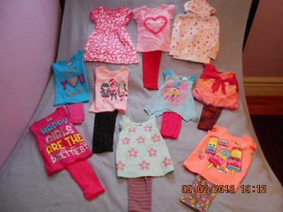 18 Pc Mixed Lot Girls Size 4-4T Spring Clothing (12 are nwt)