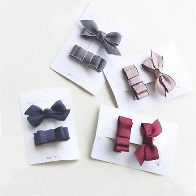 Bow Accessories Ribbon Girls Parent Child Hair Clip Hair Ornaments Suit Baby