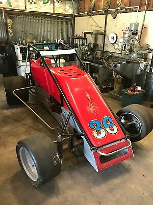 USAC Silver Crown Asphalt Car