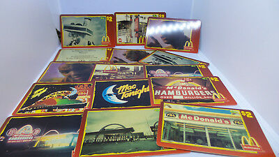 Lot of 15 Assorted Sprint $2 Score Board 1996 McDonald's Unused Phone Cards