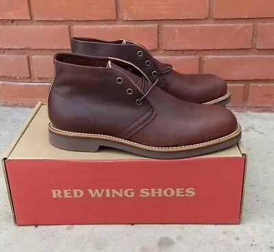 55de5758396 NEW RED WING Foreman Chukka Boot Mens Size 8.5 D Style 9215 Briar Oil USA  made