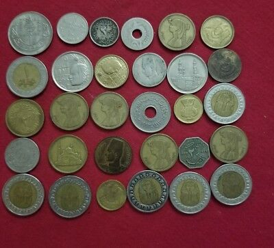 LOT.  30 old COINS FROM EGYPT 1933_/2012