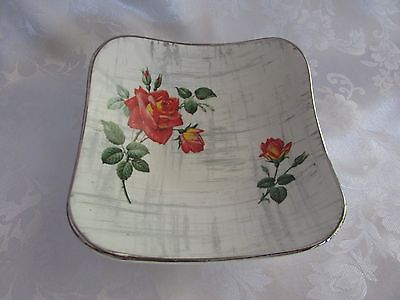 Midwinter Staffordshire Stylecraft Fashion RETRO 14cm square serving dish 1960