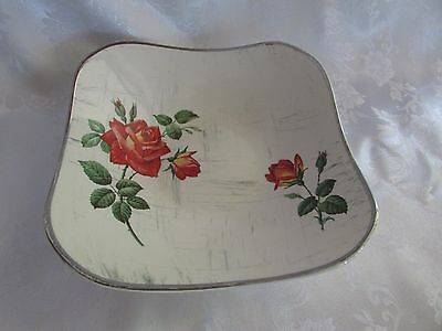 Midwinter Staffordshire Stylecraft Fashion RETRO 19cm square serving dish 1960