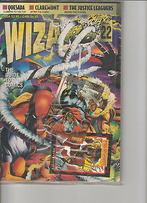 Wizard Comic Guide # 22, Vintage JUNE 1993, SEALED DEADPOOL COVER