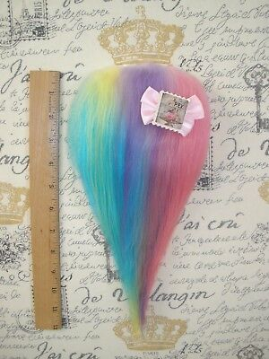 Troll Doll Wig Hair Mohair Replacement for Vintage or New Dam Scandia Wishnik g