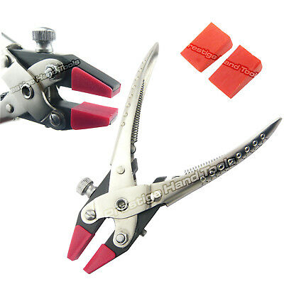 """Parallel flat nose pliers with adjustable Double Nylon Jaws Prestige 6.5""""#0858"""