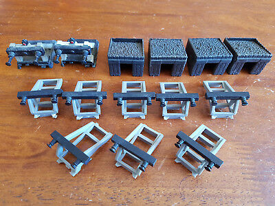 Triang Etc Buffer Stops X 14 Excellent Condition Unboxed Oo Gauge(Ch29)