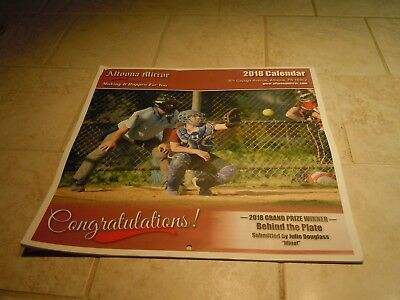 2018 Wall Calendar- Altoona Mirror-Youth Sports Pictures