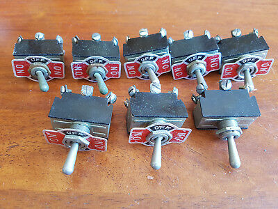 Large Switches X 8 As Shown Untested Good Condition Unboxed Oo Gauge(Ch34)