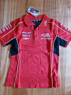Hrt Holden Racing Team Ladies Girls Polo Top Size 18 Rrp $59
