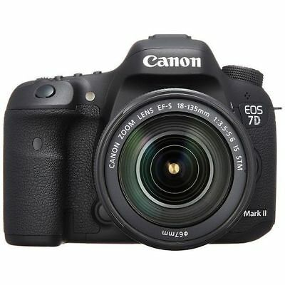 USED Canon EOS 7D Mark II with EF-S 18-135mm IS STM Excellent FREE SHIPPING