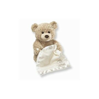 Gund Peek-A-Boo Teddy Bear Animated Stuffed Animal FREE Shipping