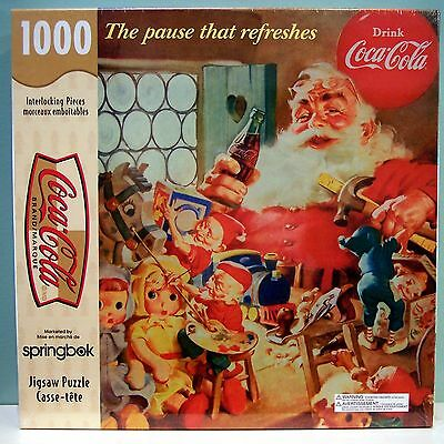 1000 Piece Coca-Cola The Pause That Refreshes Springbok Hallmark Jig-Saw Puzzle