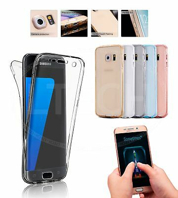For Samsung Galaxy S9 Duos Dual SIM - Shockproof 360 Clear Gel Case Cover