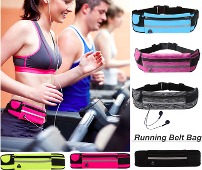 Running Belt Bag Fanny Pack Travel Waist Bum Bags Money Zip Pouch Sports Wallet
