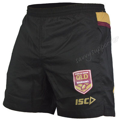 Queensland Maroons State of Origin 2018 NRL Training Shorts Adults & Kids Sizes