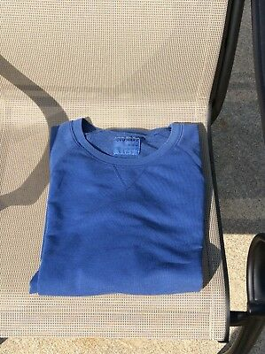Nwt's Mens Old Navy XL Blue French Terry Shirt