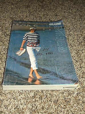 Vintage Sears Roebuck Spring and Summer 1988 Department Store Catalog