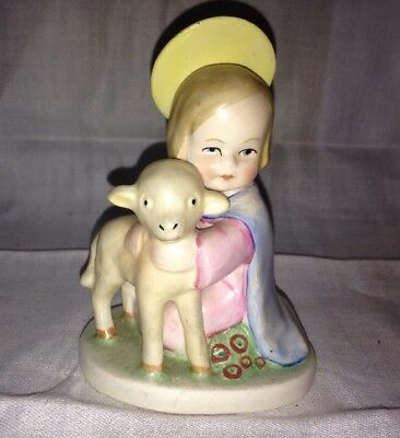 Vintage Goebel Christ Child with Lamb Figurine-Germany
