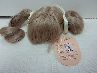 Global doll wig JANEY 9-10 BLONDE  those were the days