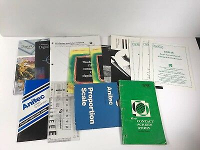 Mixed Lot Of 14 Photo Printing Manuals, Brochure, Pamphlet (Very Good Condition)