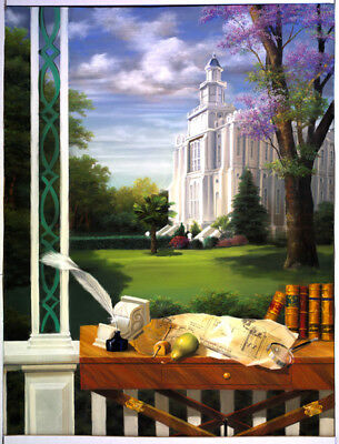 LDS LAIE HAWAII Temple - Eternity in Paradise - Canvas Limited