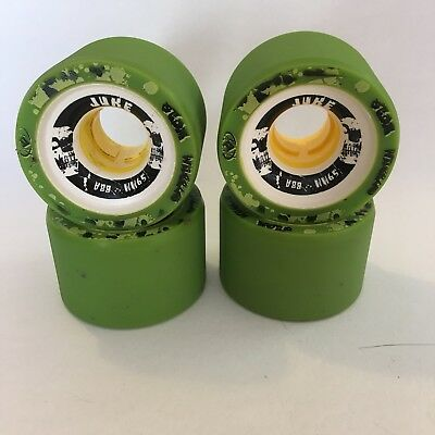 Atom Juke Roller Skate Derby Wheels 59mm 88A Set Of 4