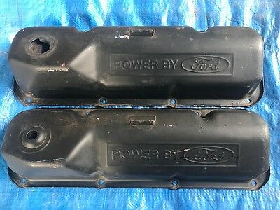 Xy Xw Power By Ford Rocker Covers Genuine Xa Xb Gt Gs Ho Fairmont Goss Moffat