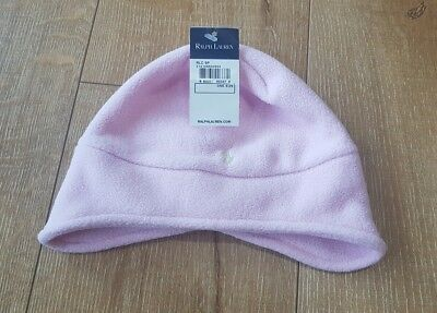 NEW Ralph Lauren Baby Girl Pink Beanie Size 'One Size' FREE POSTING!