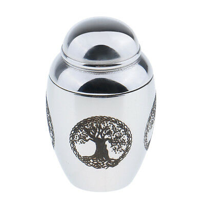 Pets Dog Cats Cremation Urn Stainless Steel Urns Funeral Memorial Ashes