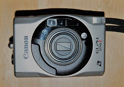 Canon Elph 370Z APS Point & Shoot Film Camera, Case, and Manual