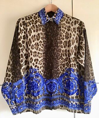 Camicia Vintage Versace By Gianni Versace Shirt Baroque Prints