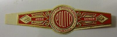 """For Sale: OLD COLLECTIBLE CIGAR BAND, """"HM COMMERCIAL (#3)"""", B14"""