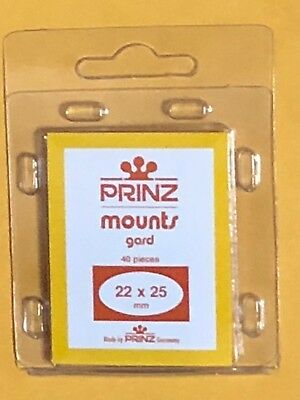 Prinz Stamp Mounts 22/25 - ***We Support And Help Our Veterans***