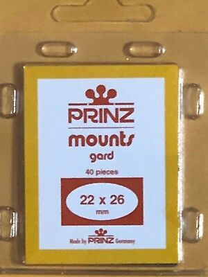 Prinz Stamp Mounts 22/26 - ***We Are A Veteran Supportive Business***