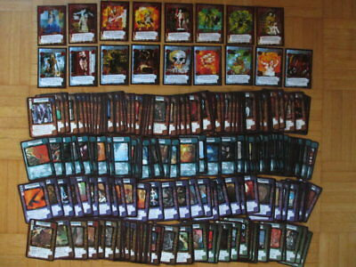 Kult ccg - near compl set - 223 different Cards Collection Archon Angel of Death