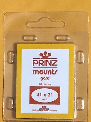 Prinz Stamp Mounts 41/31   ***We Are A Veteran Supportive Business***