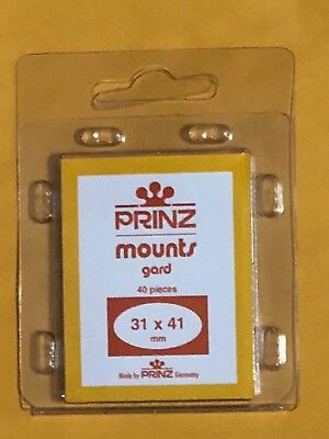 Prinz Stamp Mounts 31/41  ***We Are A Veteran Supportive Business***